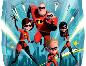 А 18 Квадрат Суперсемейка / The Incredibles 2 S60 / 1 шт /